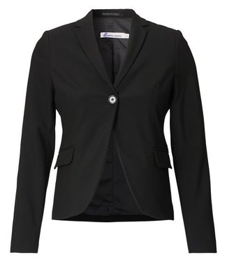Queen Mum Blazer Ls Black
