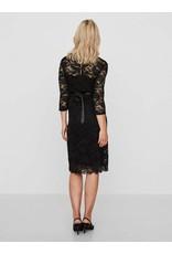 Mamalicious Ml Mivana Jersey Dress Black