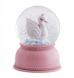 A Little Lovely Company NSnowglobe Light Swan