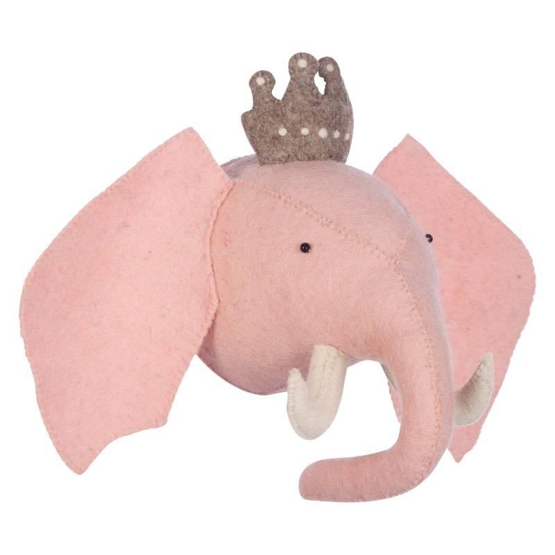 Kidsdepot Zoo Princess Elephant Roze