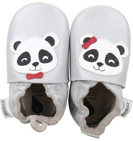 Bobux Soft Sole Silver Panda S  3-9 Mth