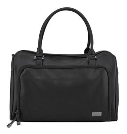 Isoki Double Zip Satchel Nurserybag Black