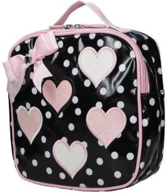 Zebra Girls Rugzakje Small Hartjes Pink