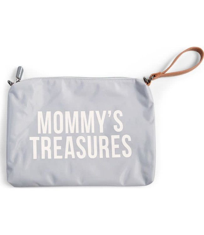 Childhome Mommy Clutch Light Grey - Off White