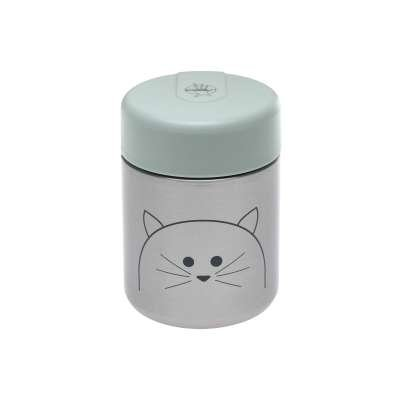 Lassig Food Jar Little Chums Cat