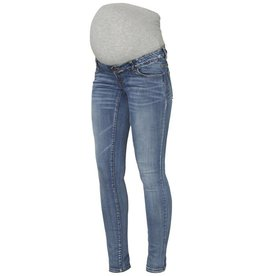 Mamalicious Golden Slim Jeans