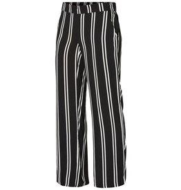 Mamalicious Ebony Woven Pants Black Bright-White