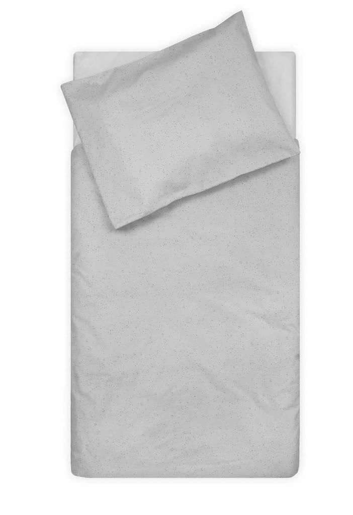 Jollein Overtrek Ledikant 100x140 cm Mini Dots Mist Grey
