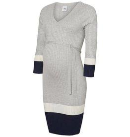 Mamalicious Vira 3/4 Rib Knit ABK Dress