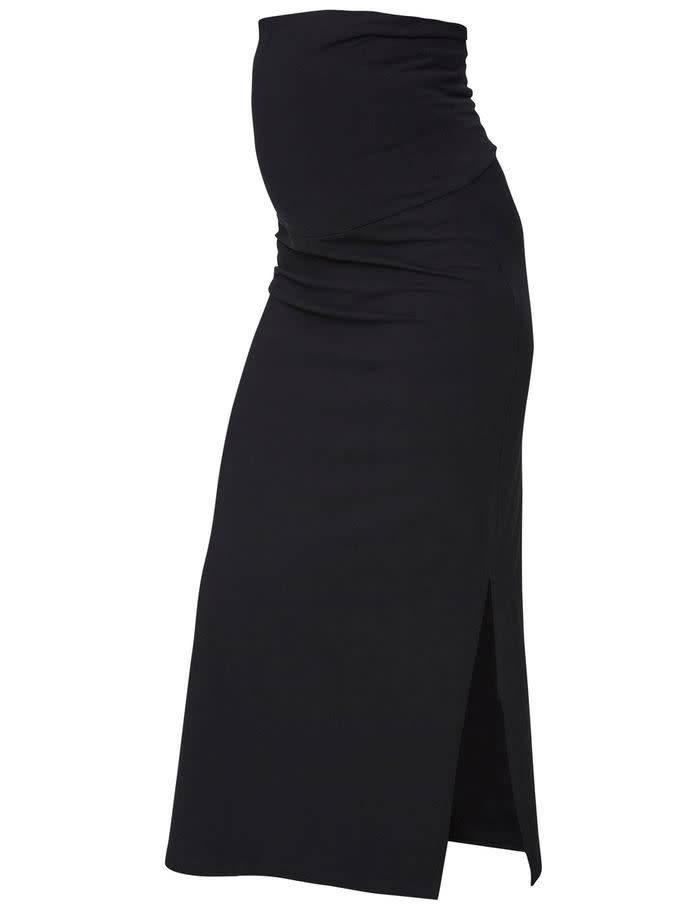 Mamalicious Lea Org Tube Maxi Skirt Black