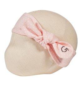Gymp Headband Vieux-Roze White 'Dots'