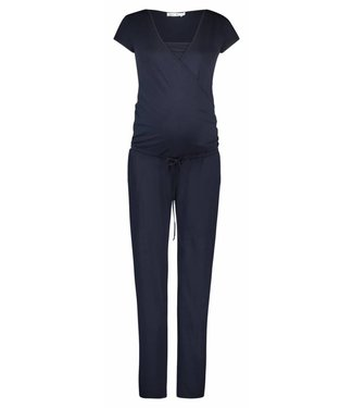 Queen Mum Jumpsuit Jersey Nursing Dark Blue
