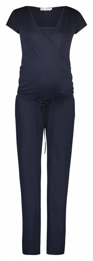 Queen Mum Jumpsuit Jersey Nursing Dark Blue