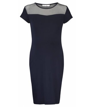 Queen Mum Dress Jersey Dark Blue