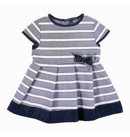 Gymp Fancy Dress Navy Stripe
