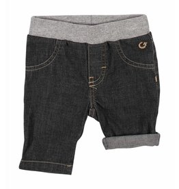 Gymp Bermuda Short Denim Antraciet