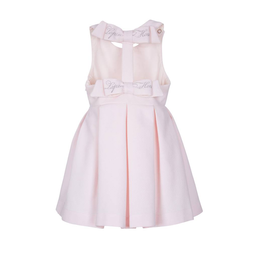 Lapin House Dress Pastel Pink Strass