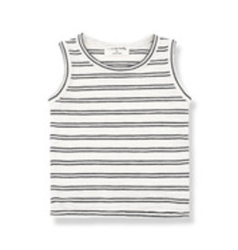 1+InTheFamily Risto Tanktop Off-White Black