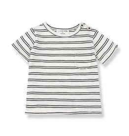 1+InTheFamily Luca Tee Off-White Black