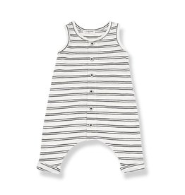 1+InTheFamily Piet Onesie Off-White Black