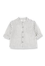 1+InTheFamily Oskar Shirt Off-White Black