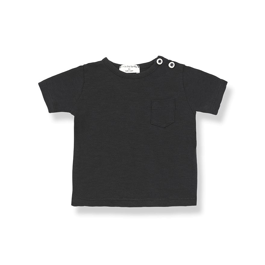 1+InTheFamily Domenico Tee Black