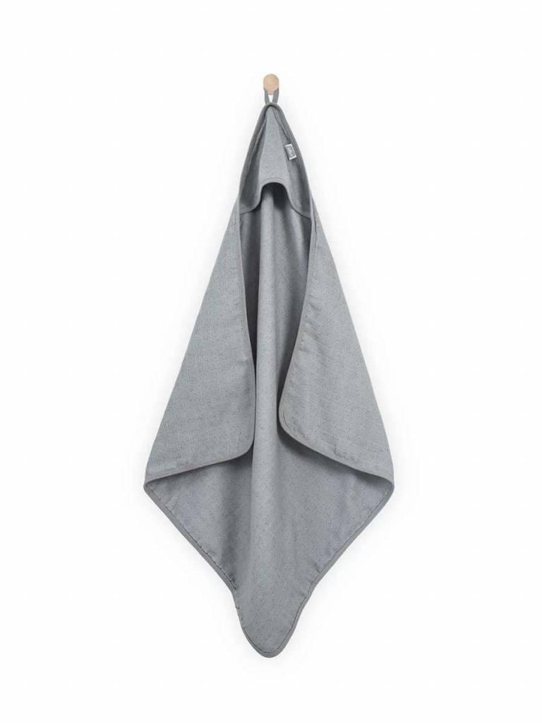 Jollein Badcape Hydrofiel 75x75 cm Mini Dots Mist Grey