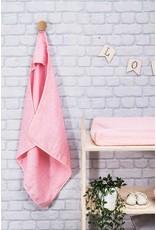 Jollein Bacape Hydrofiel 75x75cm Mini Dots Blush Pink