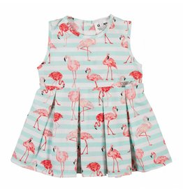 Gymp Dress Flamingo Printed