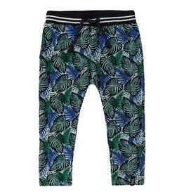 Beebielove Pants Print Blue/Green 'Leaves'