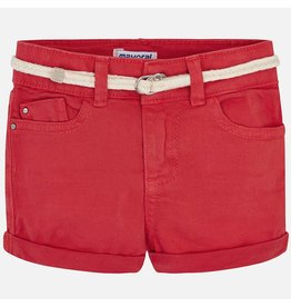 Mayoral Basic Twill Short Persimon Red