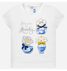 Mayoral Shirt Printed 'So Lovely'