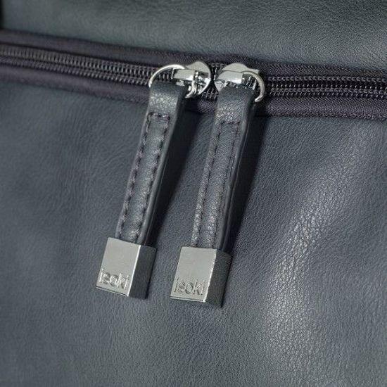 Isoki Double Zip Satchel Nurserybag Black