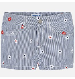 Mayoral Embroidered Short