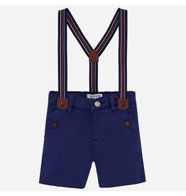 Mayoral Chino Short Azul With Suspenders