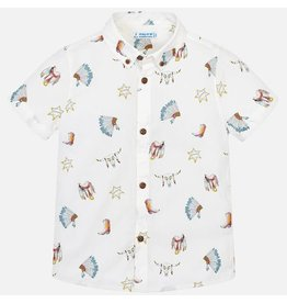 Mayoral Shirt s/s Printed Wild West