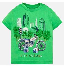 Mayoral Tee s/s Green Printed