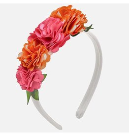 Mayoral Flowers Headband White