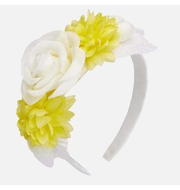 Mayoral Flowers Headband Naturel Citrus