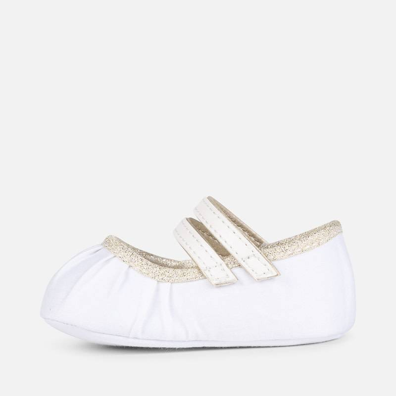 Mayoral Shoes Golden Maryjanes