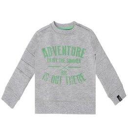 Beebielove Sweater Grey/Green 'Adventure'