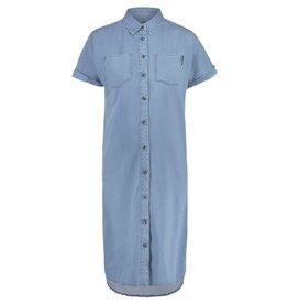 Supermom Dress SS Mid Blue Denim