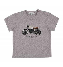 Gymp Tee Grey 'Motorcycle'