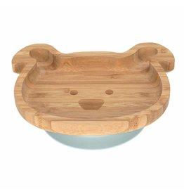 Lassig Platter Bamboo/Wood Little Chums Dog