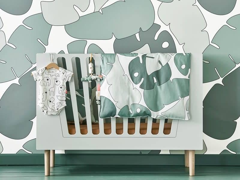 Done By Deer Bedlinen Tiny Tropics Duvet 100x140 pillow 40x60