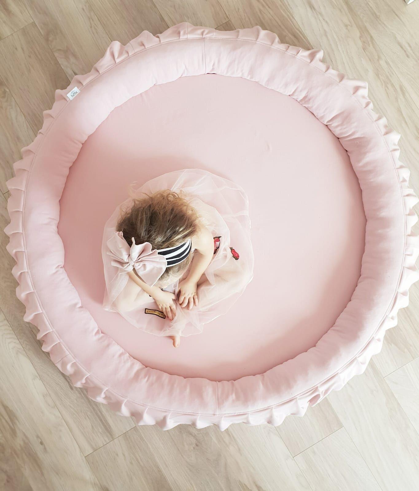 Miiimi Nest Jersey Powder Pink Size 120 cm