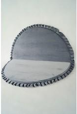 Miiimi Velvet Play Mat Grey 105 cm