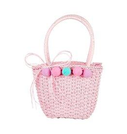 Souza For Kids Tasje Anine Light-Pink Pompons