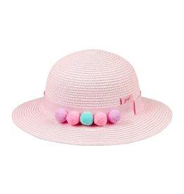 Hoed Anine Light-Pink Pompons