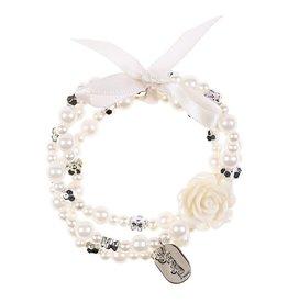 Souza For Kids Bracelet Carolien Off-White Silver
